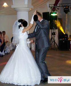 OKAZJA! piękna suknia ślubna r. 36 + GRATISY!
