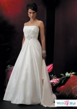 OKAZJA! Piękna suknia ślubna z kolekcji Justin Alexander