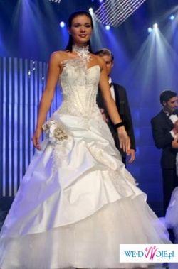 OKAZJA!!! Prześliczna suknia ślubna Farage