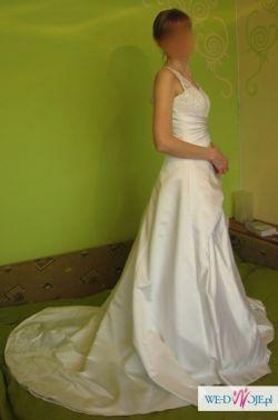 OKAZJA Śliczna suknia ślubna TANIO