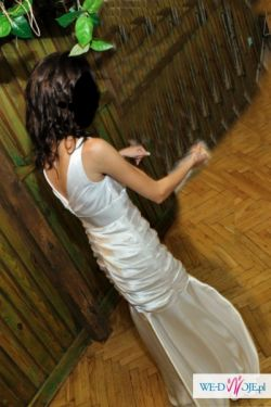 OKAZJA!!! Śliczna suknia ślubna...za ROZSADNA CENE