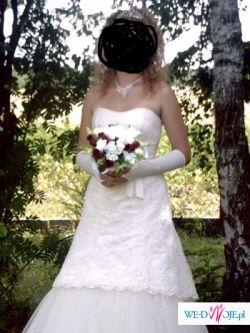 Okazja! Sprzedam śliczna suknię ślubną 2009 r za 1300