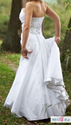 OKAZJA!!! Sprzedam suknię ślubną