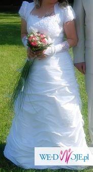 Okazja sprzedam suknie śluną  roz.3840