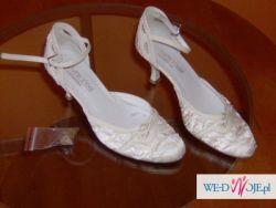 Okazja! Sprzedam tanio buty ślubne