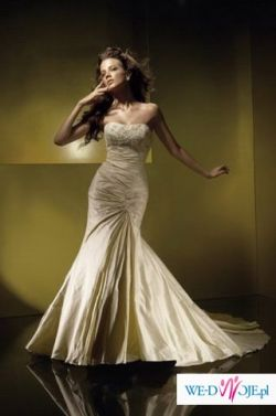 *OKAZJA* Suknia ślubna BENGI(model rybka)/Benjamin Roberts-gratis WELON i HALKA