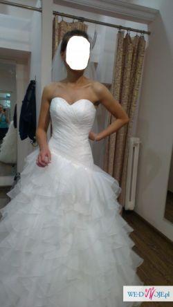 okazja Suknia ślubna hiszpanka rozmiar 36+ welon