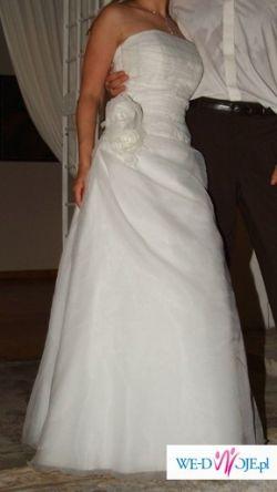 OKAZJA!!!! ---Suknia ślubna MADONNA ---TANIO----
