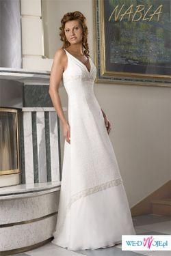 OKAZJA!!!! Suknia ślubna NABLA 1000zł