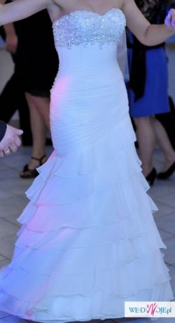 OKAZJA!!! Suknia ślubna VICTORIA JANE 17407 rozmiar 36/38
