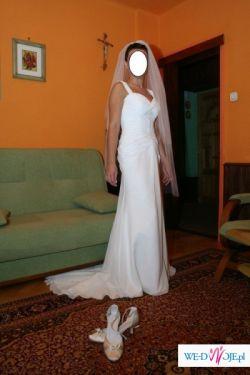OKAZJA!!!Wyjątkowa Suknia Ślubna z Dodatkami!!!