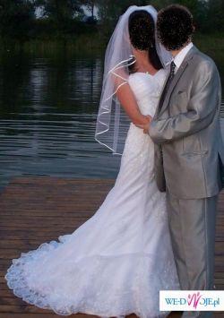 OKAZJA z USA!!! Suknia kupiona za 2700 zł sprzedam za 700 zł