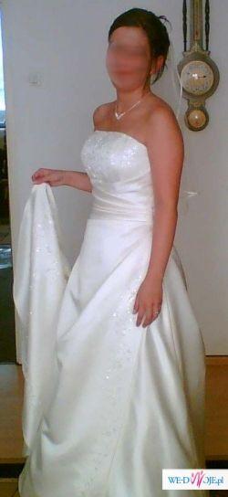 Olśniewająca suknia ślubna Promesa z salonu jak nowa