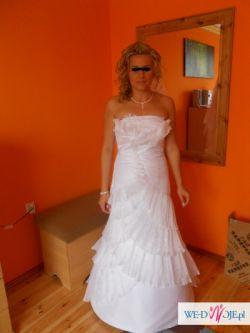 Orginalana suknia ślubna