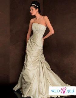 Orginalna,elegancka suknia slubna prosto z Majorki