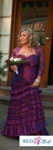 Orginalna Suknia hiszpanska