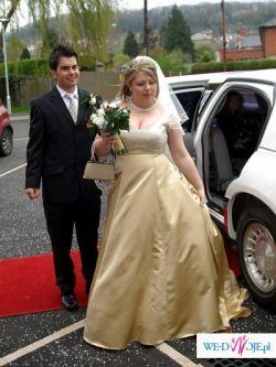 orginalna zlota suknia