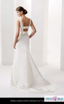 Oryginalna, elegancka suknia ślubna model Gizella