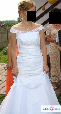 Oryginalna i romantyczna suknia ślubna jak z bajki!!!