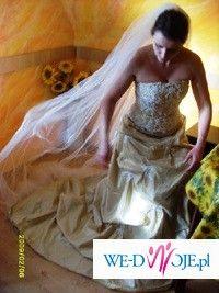 Oryginalna,piękna suknia!