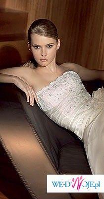 oryginalna, pięknie zdobiona suknia, model: Balta, San Patrick