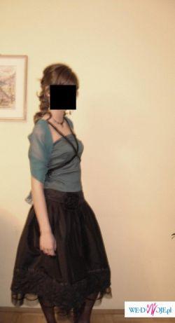 Oryginalna sukienka wieczorowa!