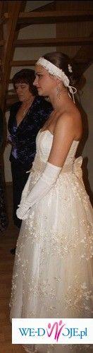 oryginalna suknia firmy PAPILIO