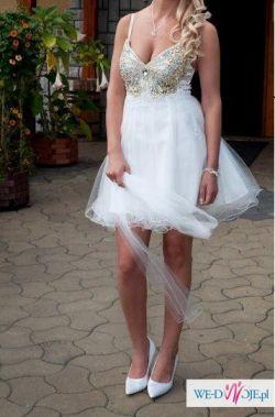 Oryginalna suknia na ślub lub poprawiny