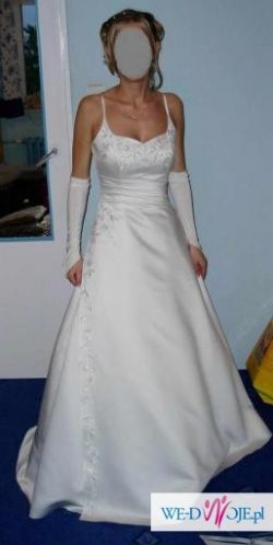 Oryginalna suknia ślubna Adria