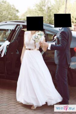 Oryginalna suknia ślubna CUDO!