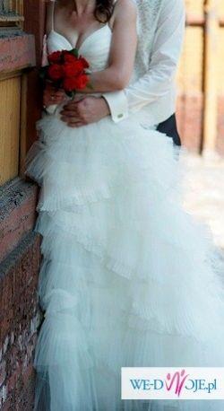 Oryginalna suknia ślubna + dużo gratisów