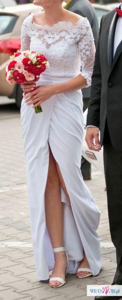 Oryginalna Suknia ślubna Fioreod Violi Piekut Suknie ślubne