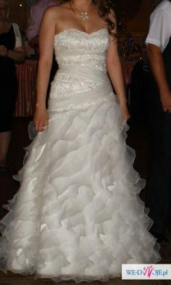 "Oryginalna suknia slubna firmy Annais Bridal ,,Carrera"""