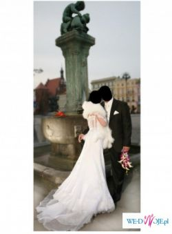 Oryginalna suknia ślubna Melody MS Moda