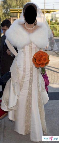 oryginalna suknia slubna Oro Novias (hiszpańska)