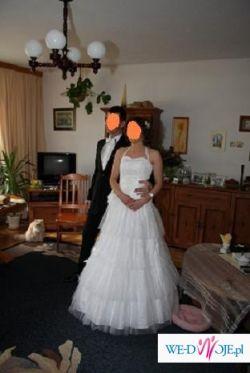 oryginalna suknia ślubna - piękna! wygodna!
