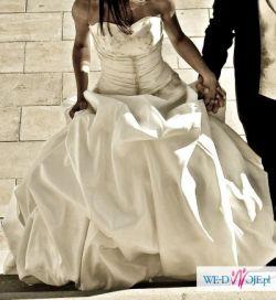Oryginalna suknia ślubna ****PRINCESS**** jedyna taka francuski styl
