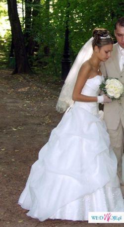 Oryginalna suknia ślubna!!! TYLKO DLA CIEBIE!!!