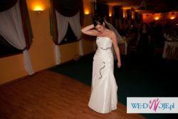 Oryginalna suknia ślubna w idealnym stanie