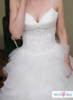 Oryginalna suknia ślubna w super cenie!!! :)