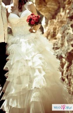 Oryginalna suknia ślubna w super cenie! :)