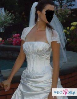 Oryginalna suknia ślubna+weon gratis