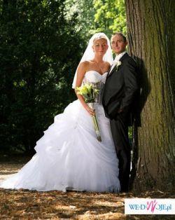 Oryginalna suknia ślubna z kolekcji Demetrios 2007 - model 2766/2763