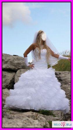 ORYGINALNA Suknia ślubna z salonu A. Mielcarek