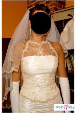 Oryginalna suknia z salonu Sophia. Kolekcja firmowa.