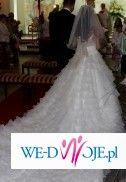 Oryginalna sukniaślubna w stylu hiszpańskim