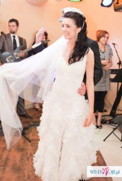 Oryginalna włoska suknia Lilea Perle - TANIO!