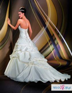 Oryginalna włoska suknia ślubna Eddy K, AK33
