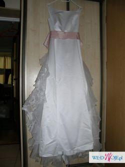 Oryginalna Włoska suknia ślubna+gratis bolerko i buty...Stan Idealny