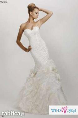 Oszałamiająca suknia ślubna SPOSABELLA VANILLA 791
